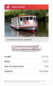 Traditional Alster steamers