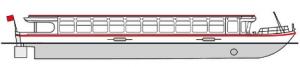 Flat-bottomed vessel type